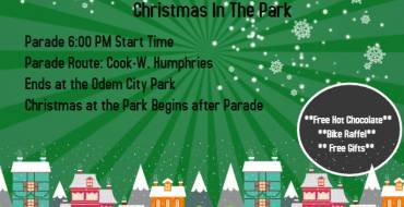 1st Annual Illuminated Christmas Parade & Christmas In The Park