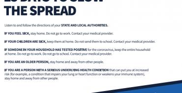 President's Coronavirus Guidelines for America