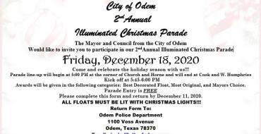 City of Odem – Illuminated Christmas Parade 2020
