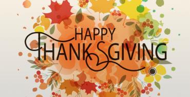 Thanksgiving Closure Notice