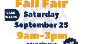 2021 Fall Fair – Odem City Park