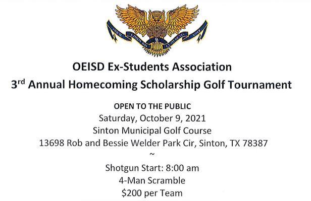 Homecoming Scholarship Golf Tournament